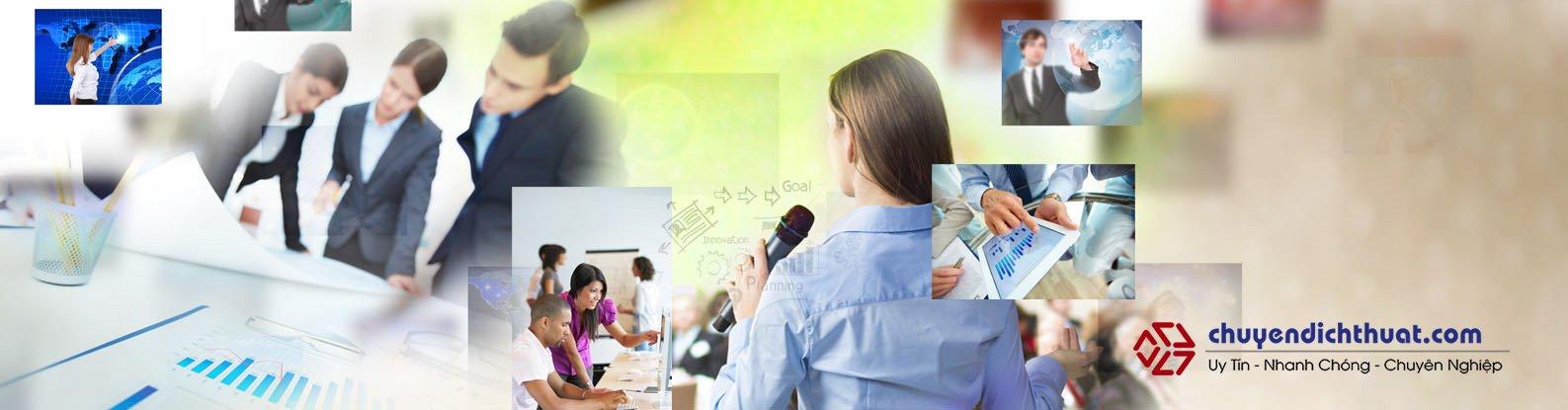 Dịch vụ Dịch thuật - Phiên dịch chuyên nghiệp